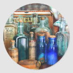 Apothecary - Remedies for the Fits Classic Round Sticker
