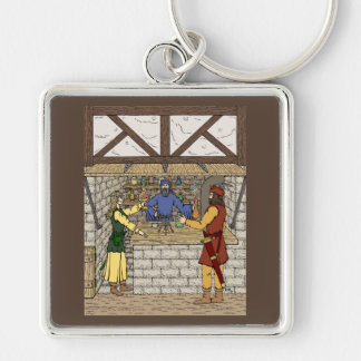 Apothecary Shop Keychain
