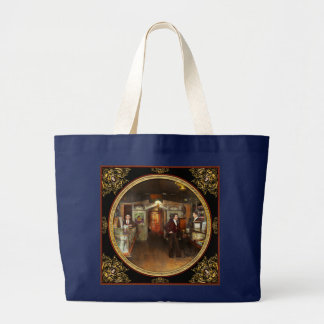 Apothecary - Spell books and Potions 1913 Large Tote Bag