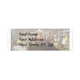 Apothecary - Spell books and Potions 1913 Return Address Label