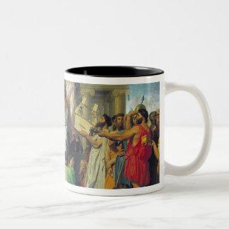 Apotheosis of Homer, 1827 Two-Tone Coffee Mug