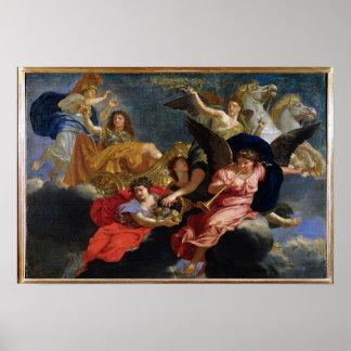 Apotheosis of King Louis XIV of France Poster