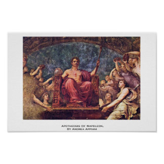 Apotheosis Of Napoleon, By Andrea Appiani Poster