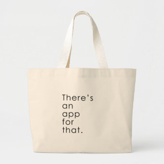 App for that large tote bag