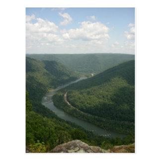 Appalachia Mountains Postcard