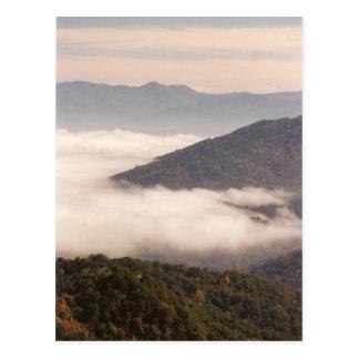 Appalachian Fog Postcard