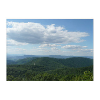Appalachian Mountains I Shenandoah Acrylic Wall Art