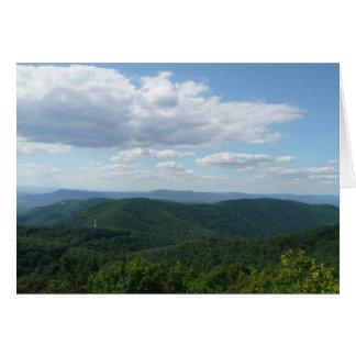 Appalachian Mountains I Shenandoah Card