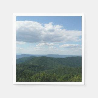 Appalachian Mountains I Shenandoah Paper Napkin