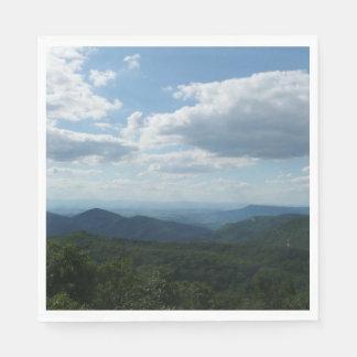 Appalachian Mountains II Shenandoah Napkin