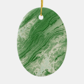 Appalachian Mountains in Alabama- Caribbean Style Ceramic Ornament