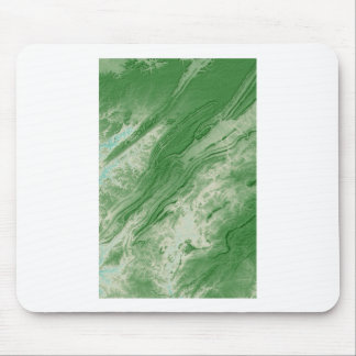 Appalachian Mountains in Alabama- Caribbean Style Mouse Pad