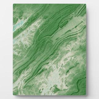 Appalachian Mountains in Alabama- Caribbean Style Plaque
