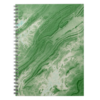Appalachian Mountains in Alabama- Caribbean Style Spiral Notebook