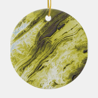 Appalachian Mountains in Alabama- Lightning Style Ceramic Ornament