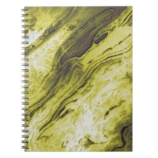Appalachian Mountains in Alabama- Lightning Style Notebook