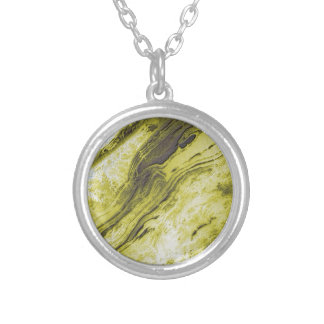 Appalachian Mountains in Alabama- Lightning Style Silver Plated Necklace