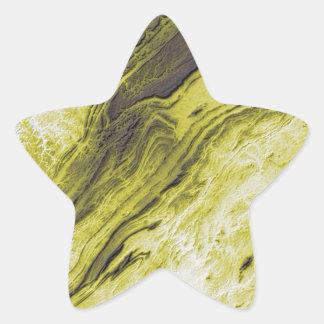 Appalachian Mountains in Alabama- Lightning Style Star Sticker