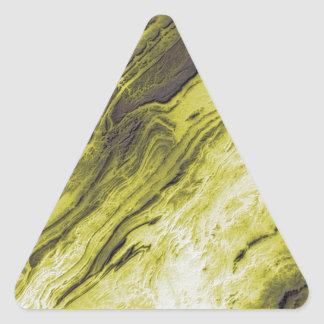 Appalachian Mountains in Alabama- Lightning Style Triangle Sticker