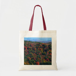 Appalachian Mountains in Fall Nature Photography Tote Bag