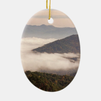Appalachian Mountains Oval Ornament