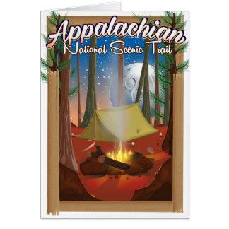 Appalachian National Scenic Trail Card