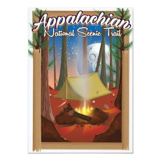 Appalachian National Scenic Trail Card