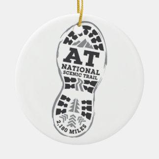 Appalachian National Scenic Trail Ceramic Ornament