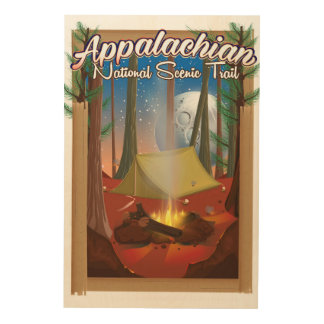 Appalachian National Scenic Trail Wood Wall Art