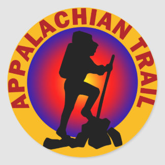 Appalachian Trail Classic Round Sticker