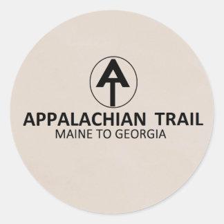 Appalachian Trail Classic Round Sticker