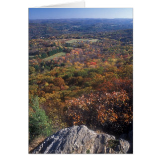 Appalachian Trail Foliage Lions Head Connecticut Card