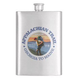 Appalachian Trail (Hiker C) Hip Flask