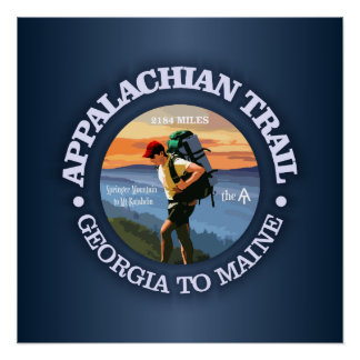 Appalachian Trail (Hiker C) Poster
