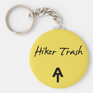 Appalachian Trail Hiker Trash Yellow  Key Chain
