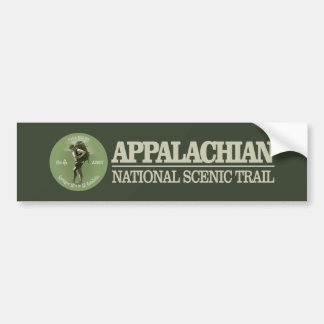 Appalachian Trail (o) Bumper Sticker