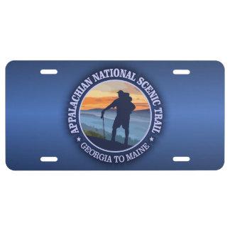 Appalachian Trail (rd)3 License Plate