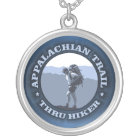 Appalachian Trail -Thru Hiker Silver Plated Necklace