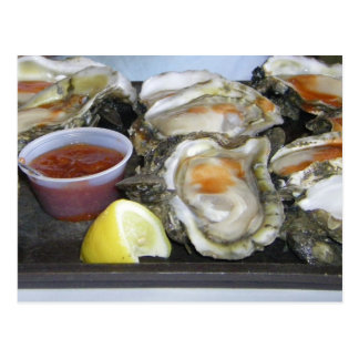 appalachicola oysters postcard