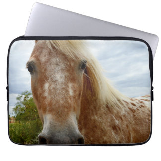 Appaloosa Horse Called Sugar, Laptop Sleeve