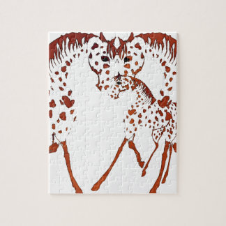 Appaloosa horse lover gifts and apparel jigsaw puzzle