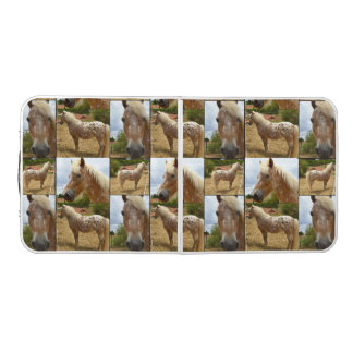Appaloosa Horse, Photo Collage, Folding Table