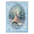 APPALOOSA & ICICLES by SHARON SHARPE Card