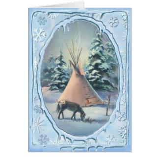 APPALOOSA & ICICLES by SHARON SHARPE Card