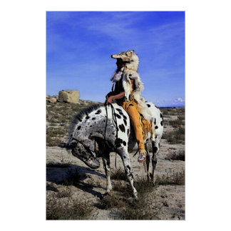 Appaloosa Memories Of The Past Poster Print