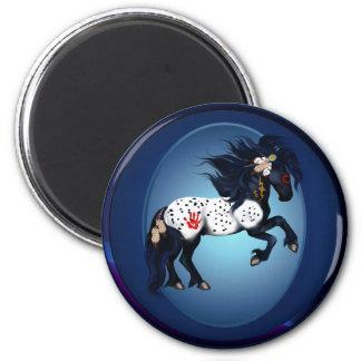 Appaloosa War Pony Oval Magnet