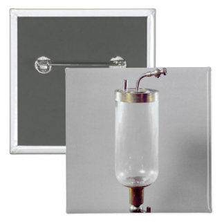 Apparatus for studying gas 2 inch square button