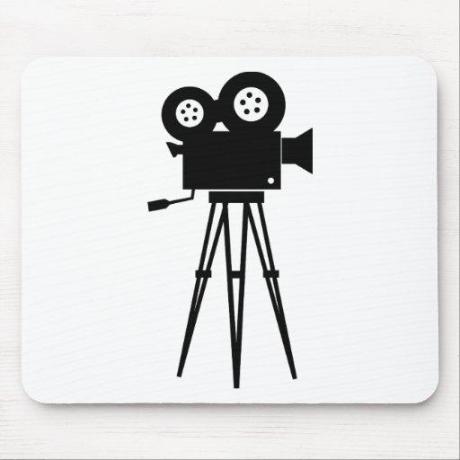 Appareil-photo classique de film tapis de souris