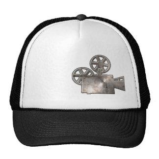 Appareil-photo de film rocailleux casquette trucker
