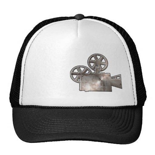 Appareil-photo de film rocailleux casquettes de camionneur